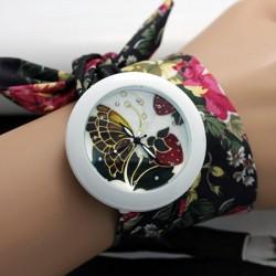 Moteriškas surišamas laikrodis BIRŽELIS