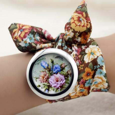Moteriškas surišamas laikrodis RUGSĖJIS