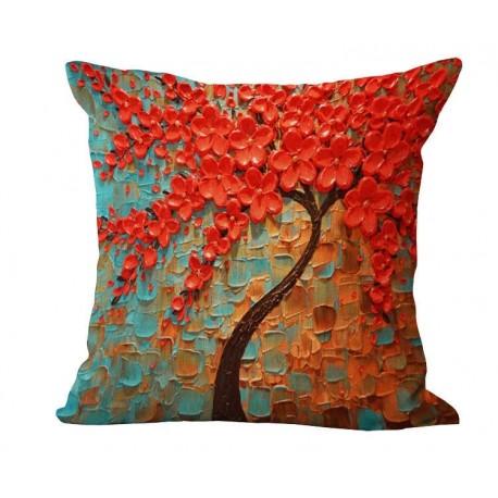 Dekoratyvinis pagalvėlės užvalkalas ŽYDĖJIMAS