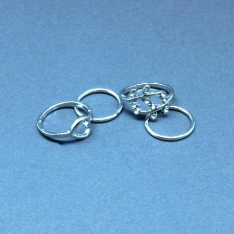 Žiedų komplektas LOVELY